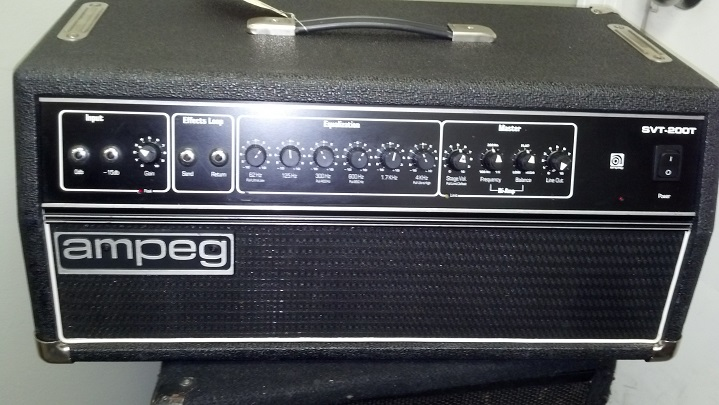 Understanding the Vintage Ampeg SVT Sound and Dating Your Gear No Treble